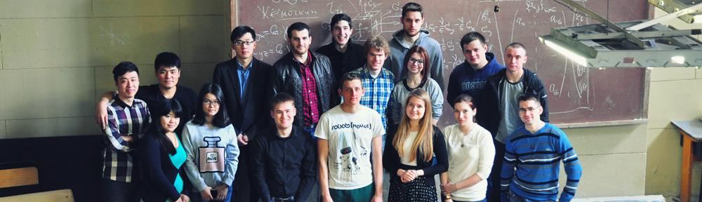 Группа магистров-строителей Института Природообустройства РГАУ-МСХА им. К.А.Тимирязева